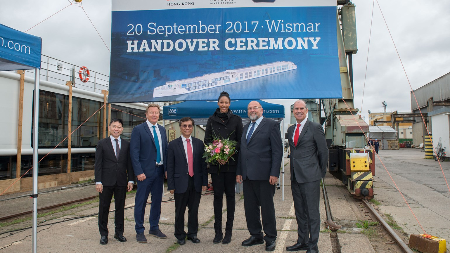 Crystal welcomes third river ship into fleet