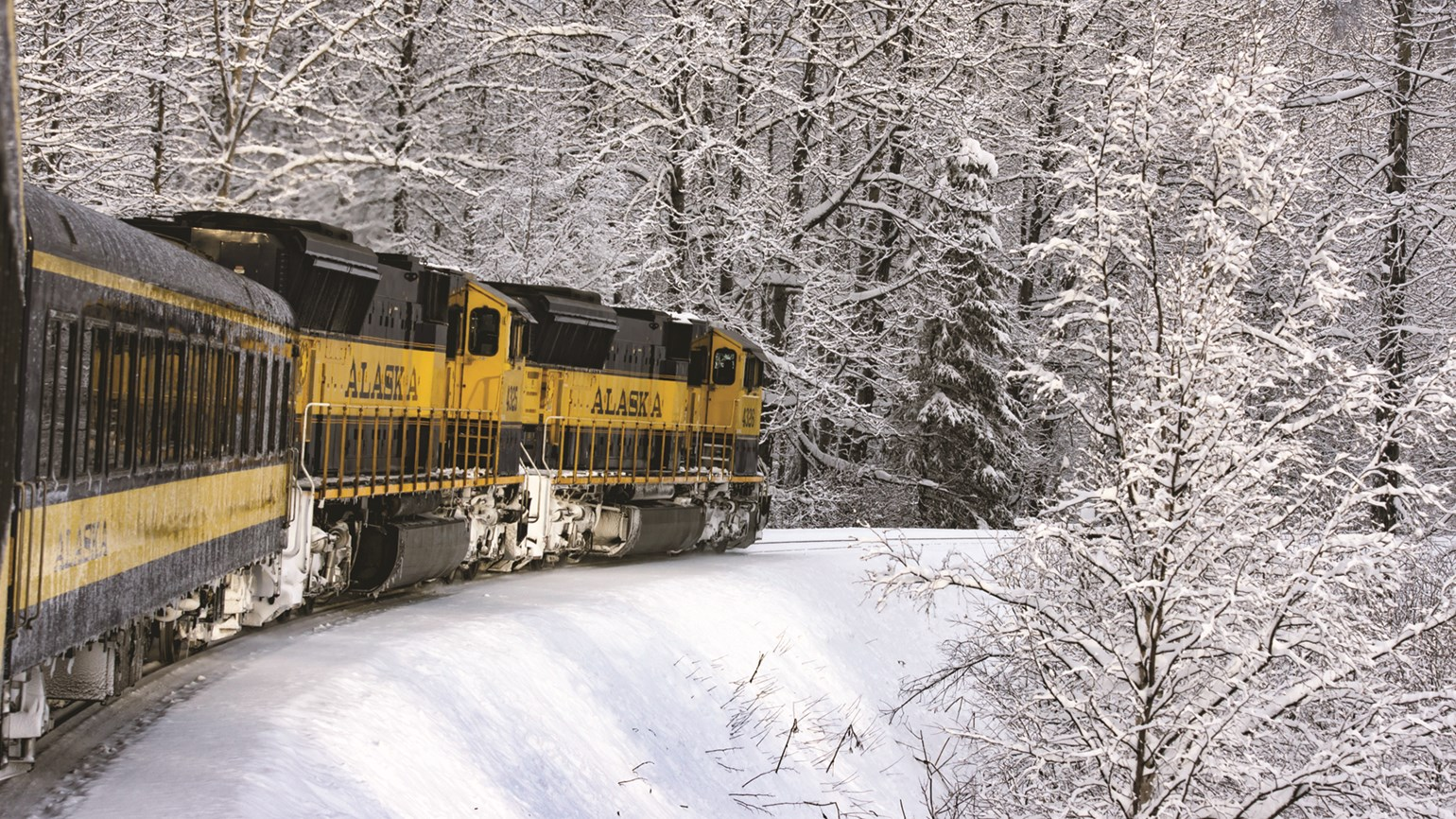 Alaska Railroad booking seasonal adventure packages