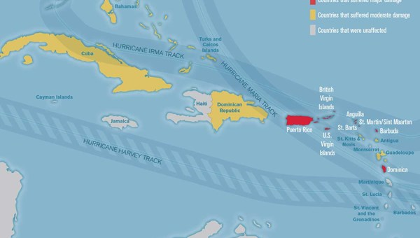 Updated: Mapping what\'s open and closed in the Caribbean: Travel Weekly