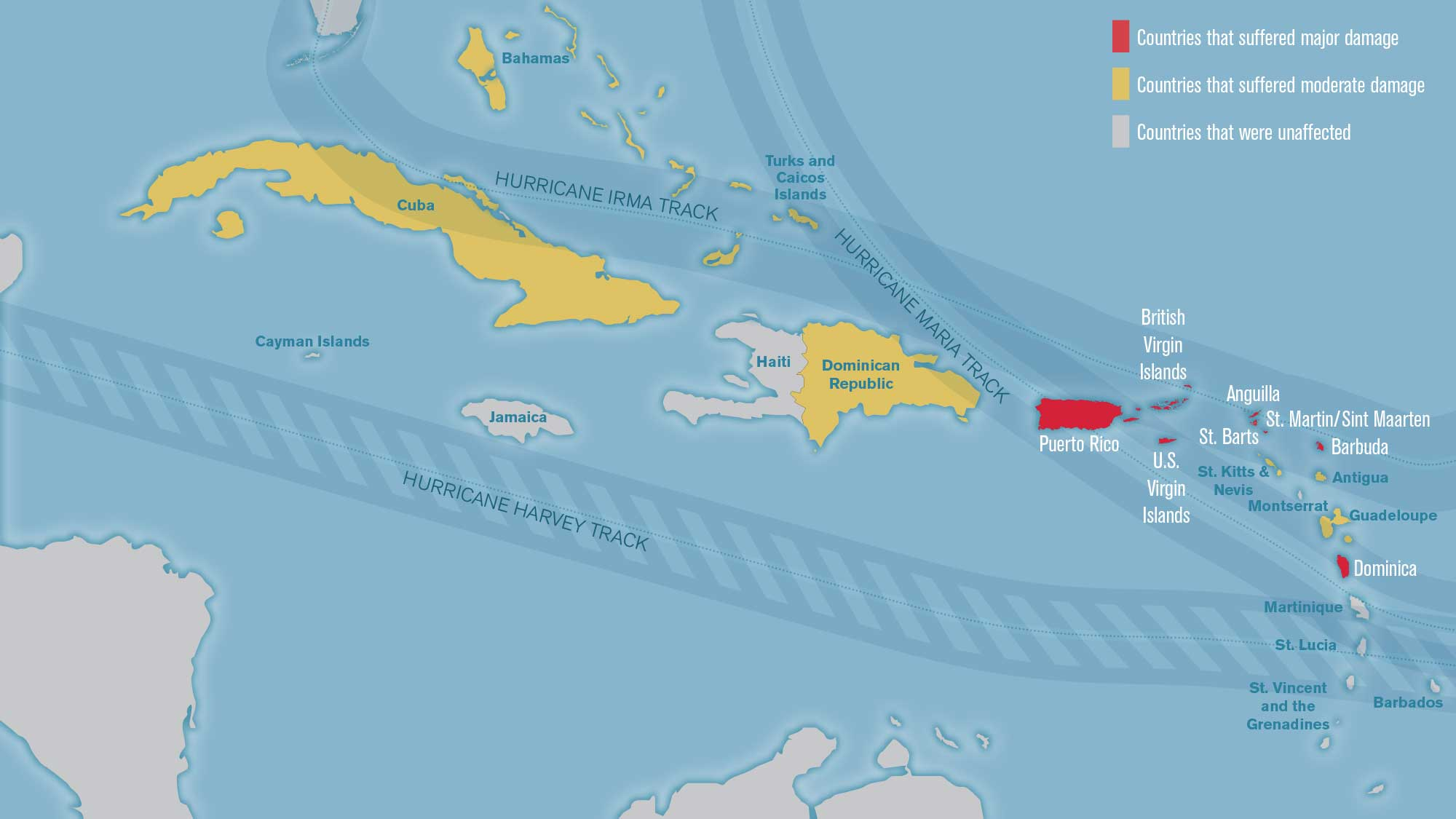 Updated Mapping whats open and closed in the Caribbean Travel