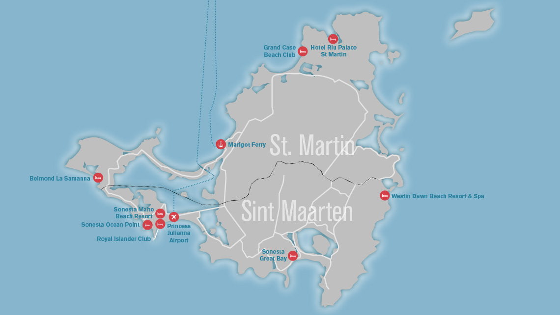 Updated Mapping What S Open And Closed In The Caribbean