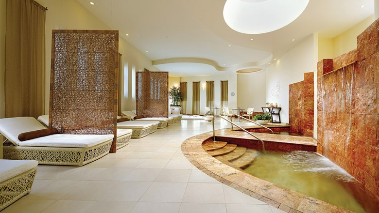 The Spa at Grand Velas has 20 treatment rooms and a menu of more than 30 holistic treatments.