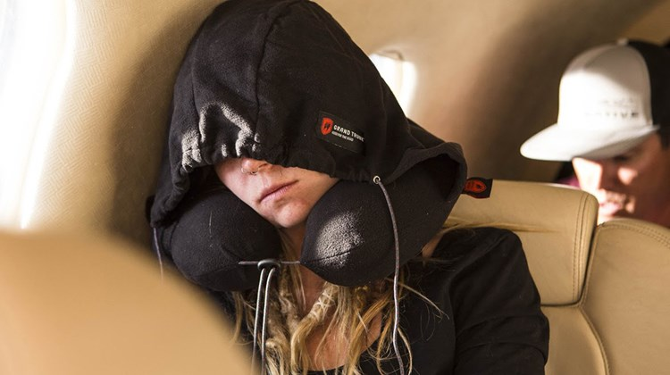 What's New, What's Hot is Travel Weekly's look at useful and fun travel gadgets, edited by Joe Rosen. First up, the Hooded Travel Pillow, designed for travelers looking for some self-imposed peace and quiet, whether they are stuck in a ''Planes, Trains and Automobiles'' situation or just journeying solo and wishing to remain so. Convenient, easily stored and ergonomically designed, it features a blackout hoodie attached to a soft neck support that can be deployed to cover one's eyes with the simple tug of a hand.