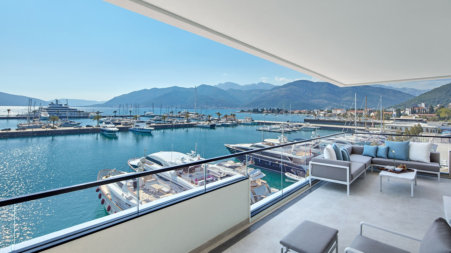 New wing debuts at Regent Porto Montenegro