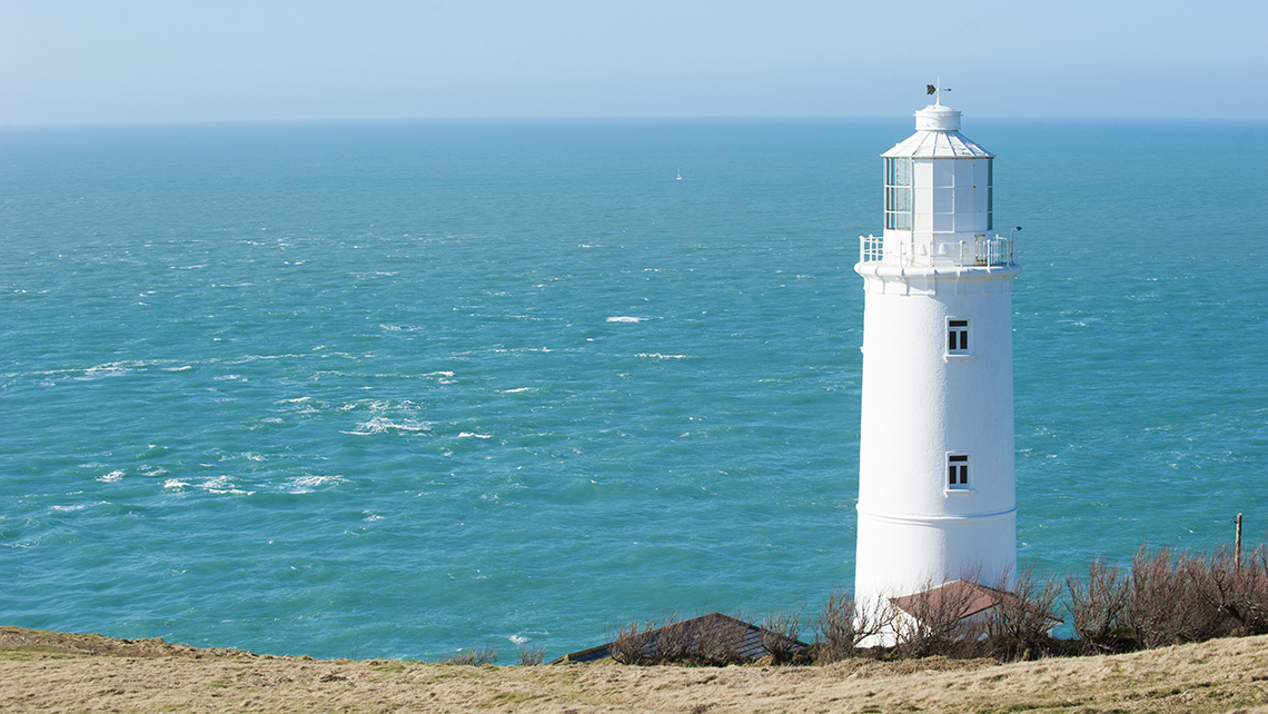 Trevose Head Lighthouse in Cornwall. Cornwall is one of four of VisitBritain's destinated culinary hubs for the year.