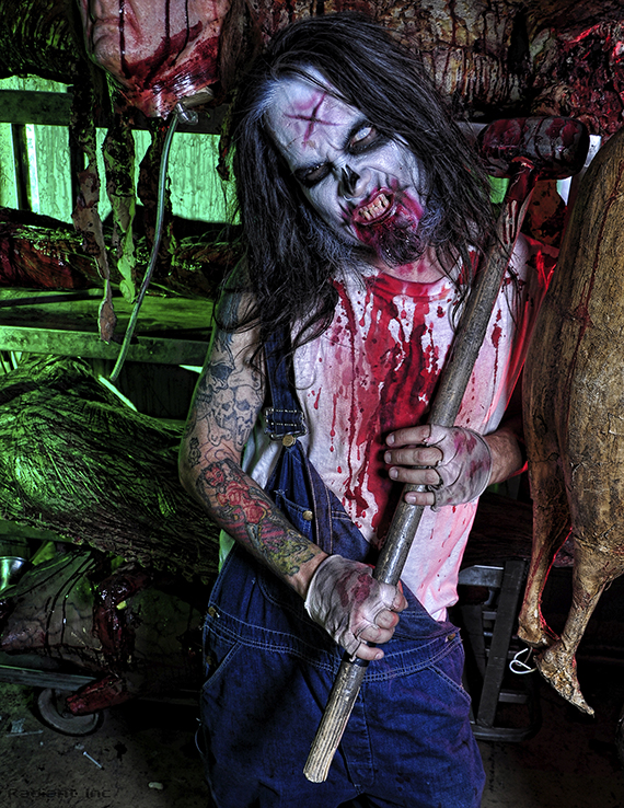 The Adventuredome at Circus Circus gets a seasonal makeover for Halloween complete with haunted mazes, hammer-wielding hillbillies and lots of screaming guests.