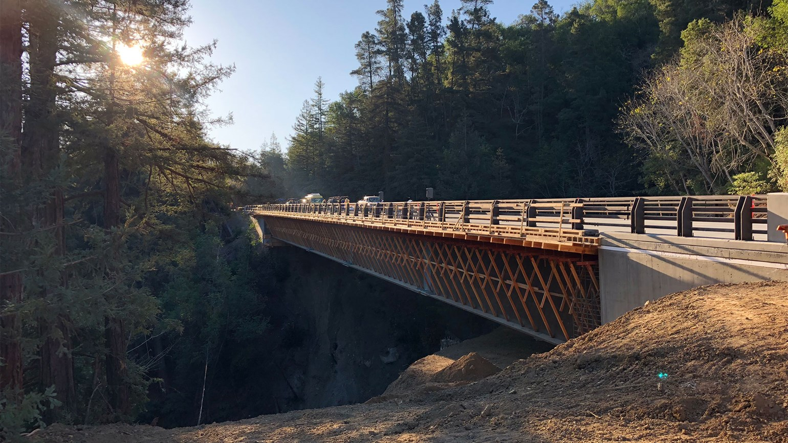 Big news for Big Sur: Pfeiffer Canyon Bridge rebuilt