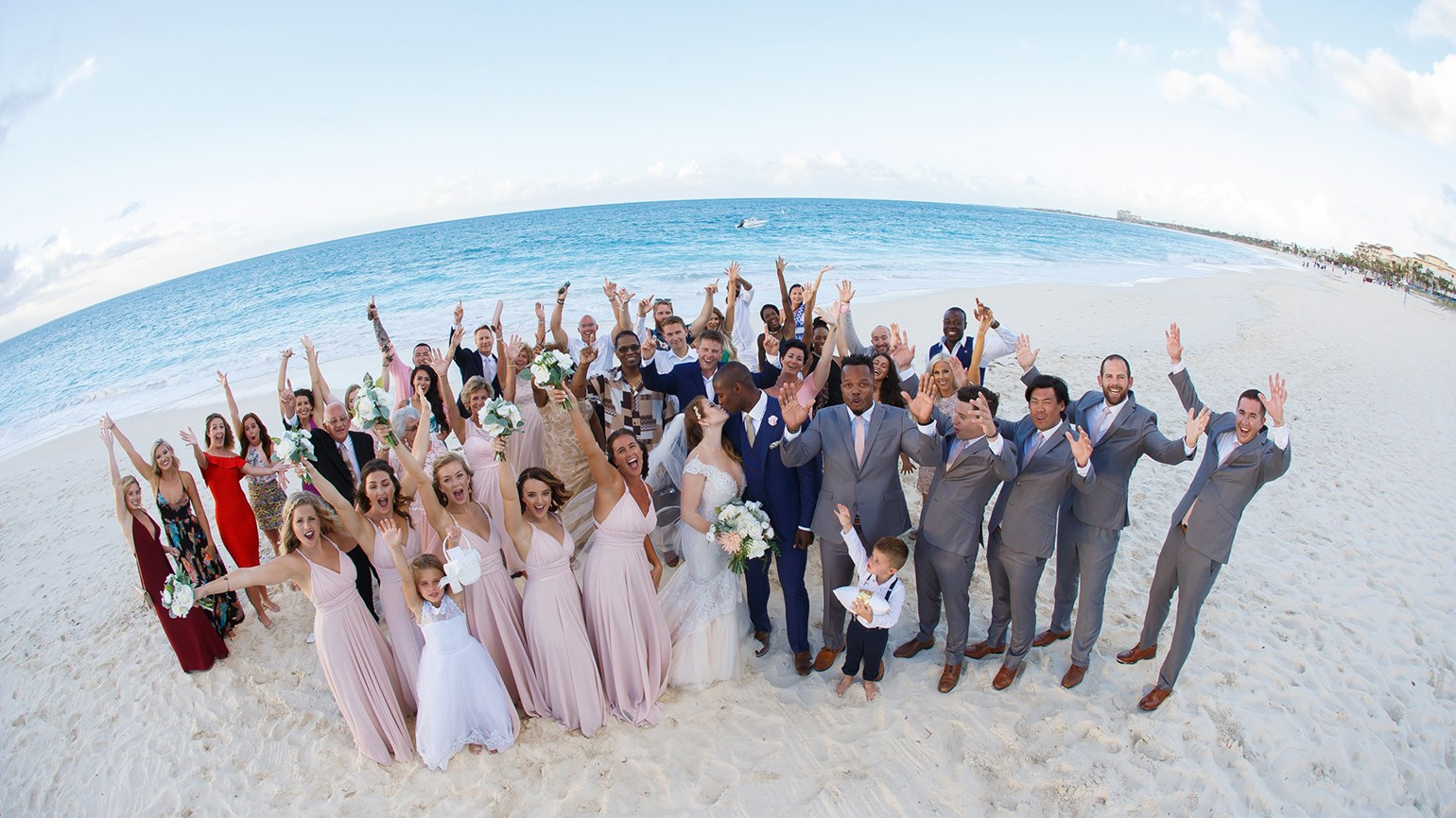The Turks Caicos Celebrated Its First Post Hurricanes Destination Wedding At Seven Stars Resort Spa On Grace Bay Photo Credit Brilliance Studios