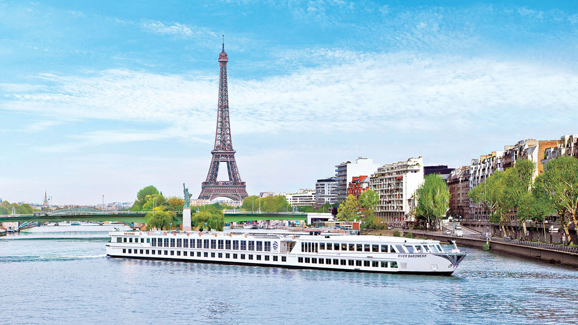 Uniworld offers a holiday sailing out of Paris on the Seine River.