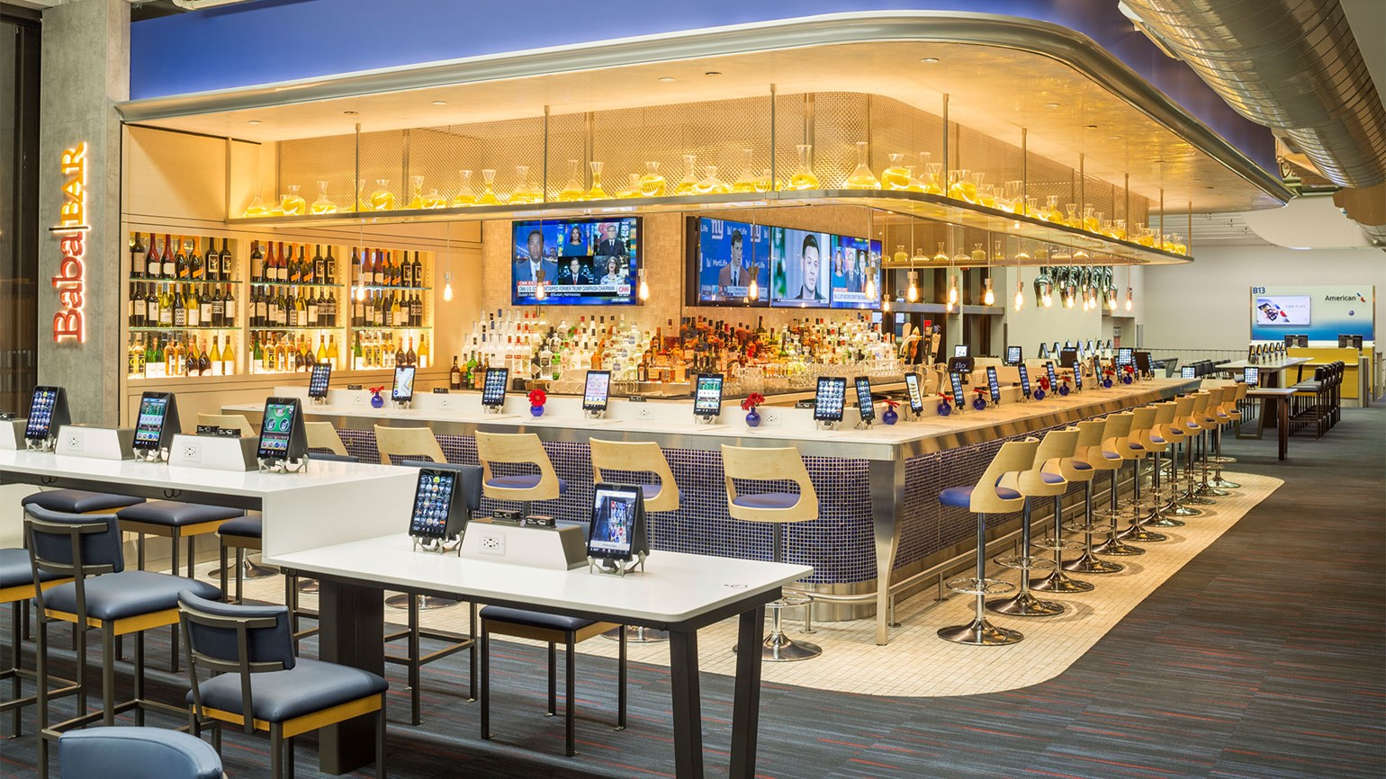 Philadelphia Airport S Terminal B Gets Otg Ipad Restaurants