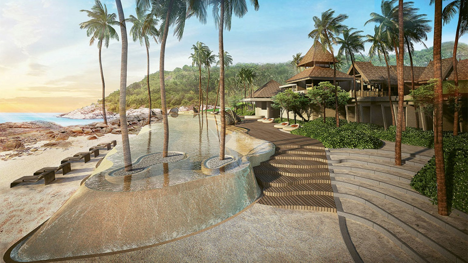 Ritz-Carlton hotel opens on Thai island