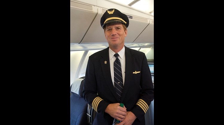 United Airlines pilot David Smith