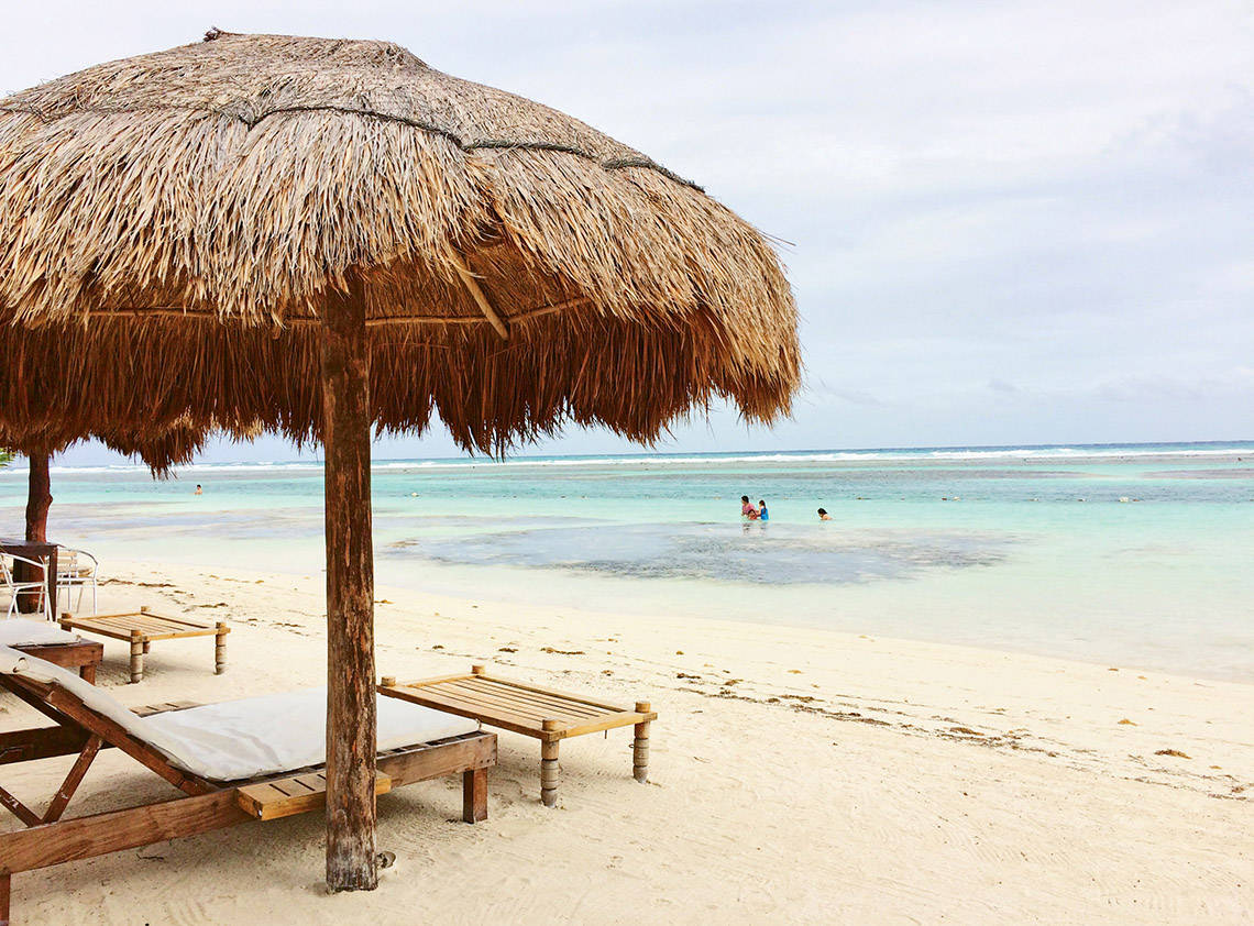 Costa Maya in Quintana Roo has limited accessibility, which makes it more pristine and private for beachgoers. Photo Credit: Meagan Drillinger