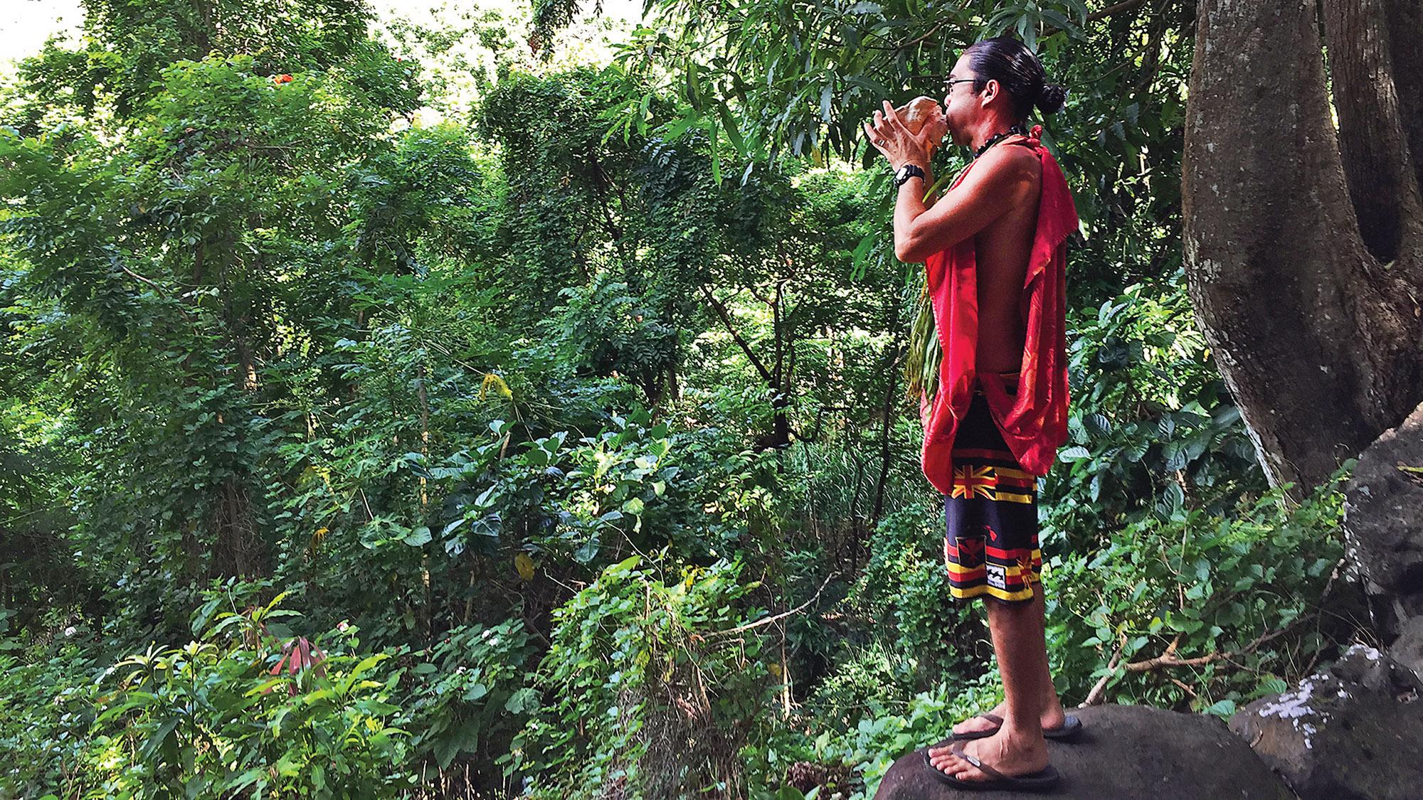 Sharing sacred culture history Molokai