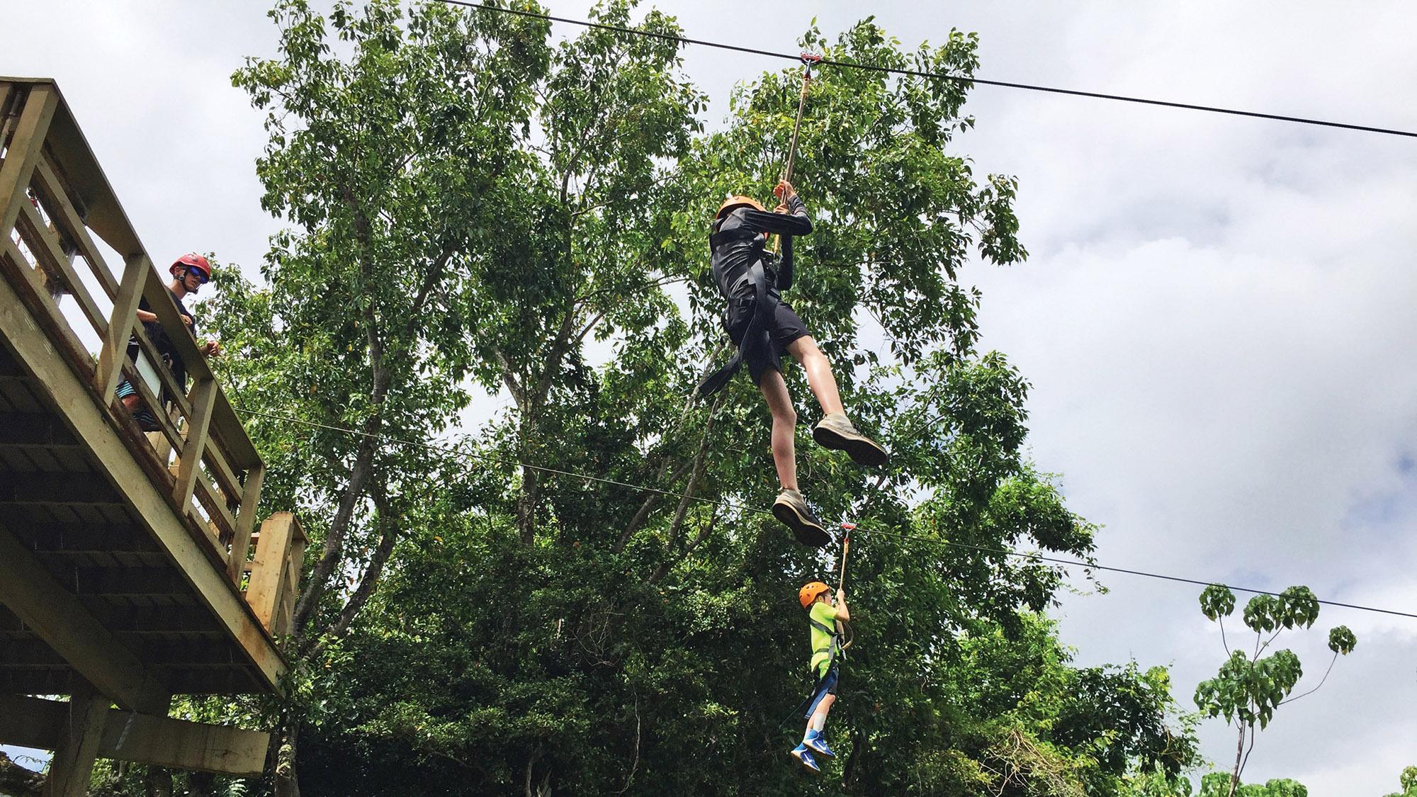 Family soars into adventure Kauai
