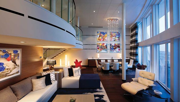 The Royal Loft Suite on the Anthem of the Seas.