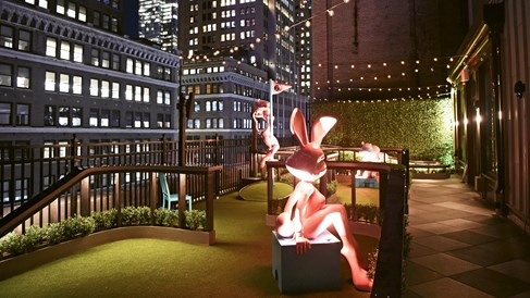 Moxy Times Square: Stylish midtown whimsy