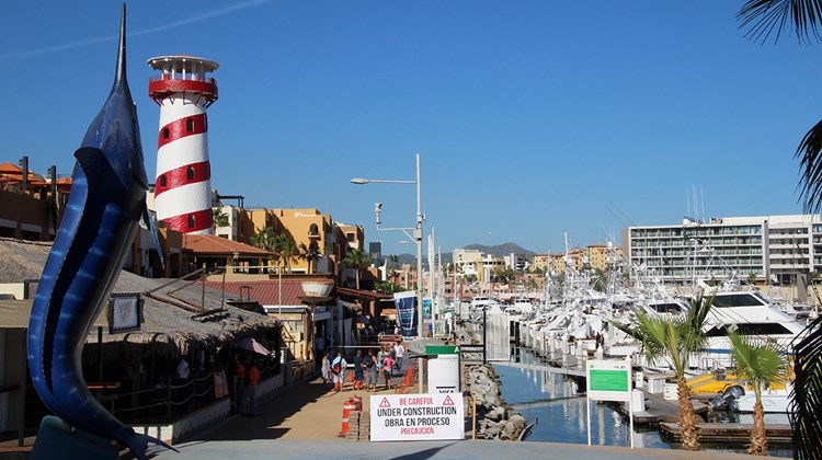 Cabos San Lucas is renowned as a sportfishing destination.