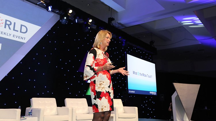 Meredith Hill, founder and president of Gifted Travel Network, presents a short TW Talk on &#39;&#39;Activating Your Midas Touch.&#39;&#39;<br /><br /><strong>Photo Credit: Creative Focus</strong>