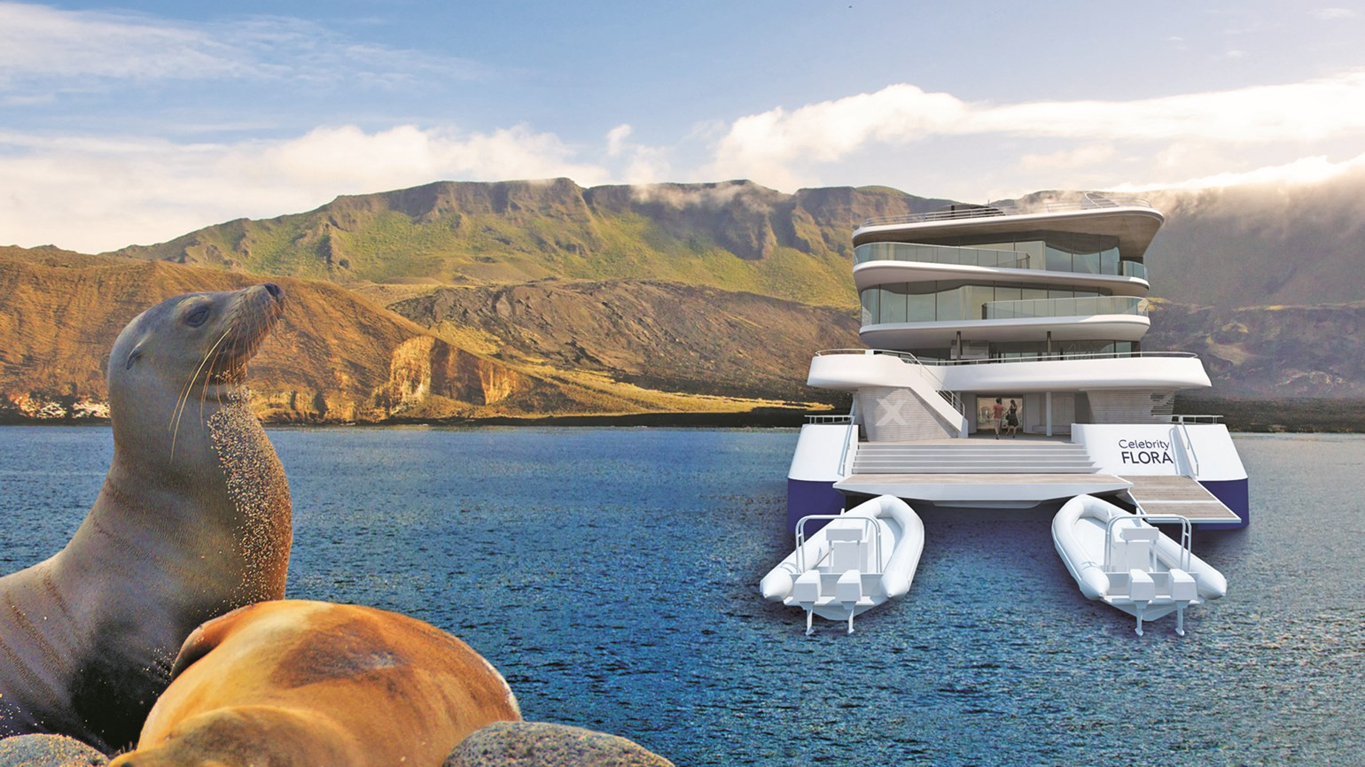 Celebrity building the Flora, a small ship for Galapagos cruises