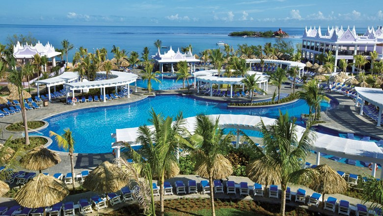 The all-inclusive Hotel Riu Montego Bay, with its many pools and other amenities, is a great base from which to explore Jamaica and experience the warmth of its people.