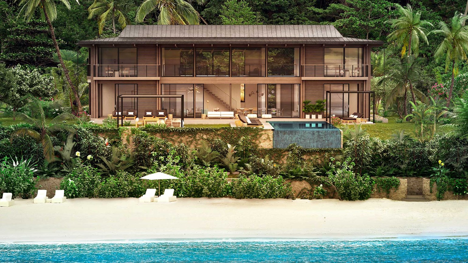 Four-bedroom homes now available at Viceroy resort in St. Lucia