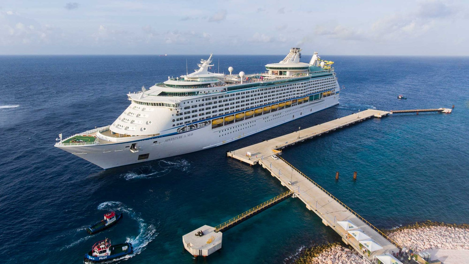 Curacao opens second cruise pier