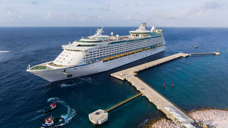 The Adventure of the Seas, which will begin operations in June from the Bahamas.