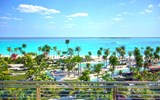 Looking out onto the Caribbean from the SLS Baha Mar.