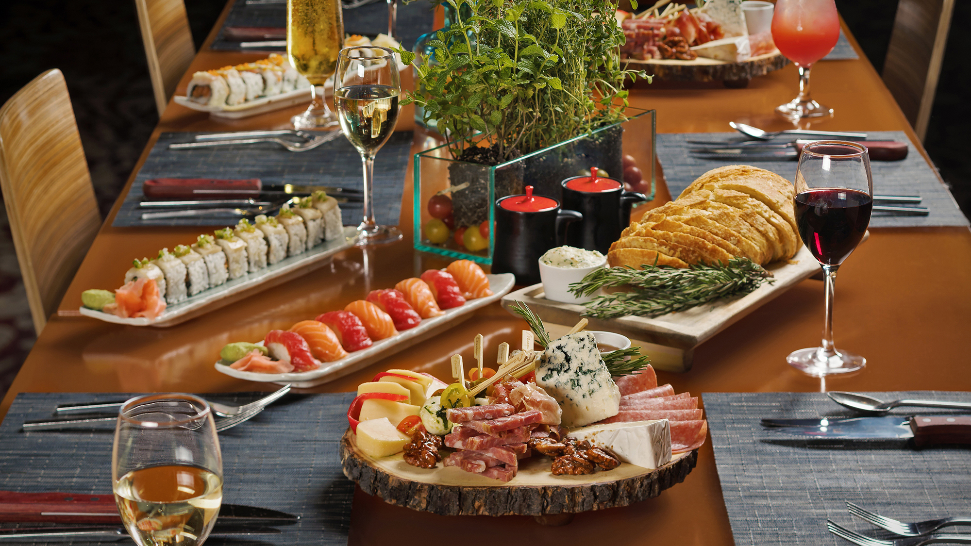 mirage s cravings buffet takes the action tableside travel weekly rh travelweekly com mirage cravings buffet coupon mirage 2 for 1 buffet coupon