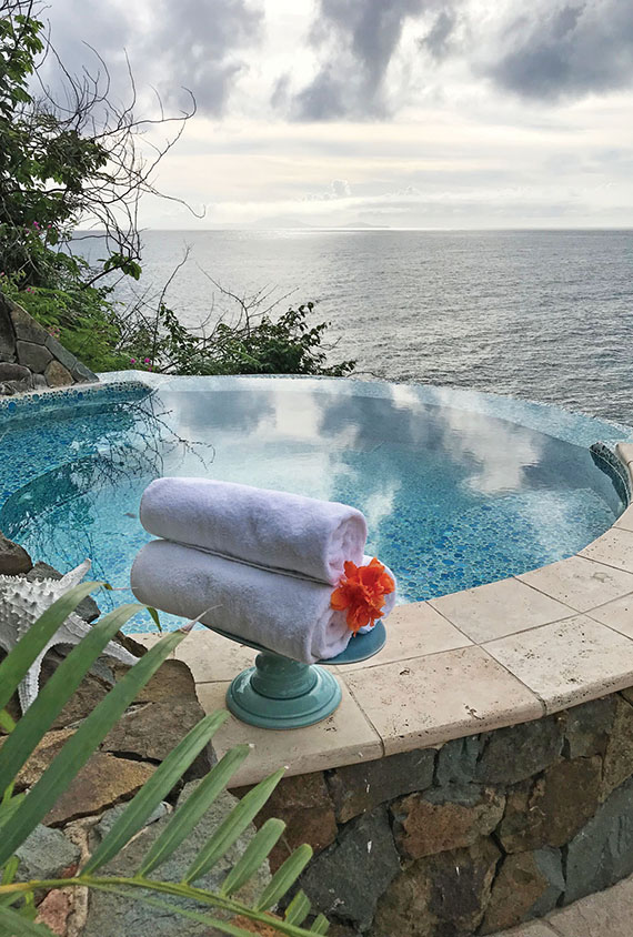 Hulford Collection suites feature infinity plunge pools. Photo Credit: Gay Nagle Myers