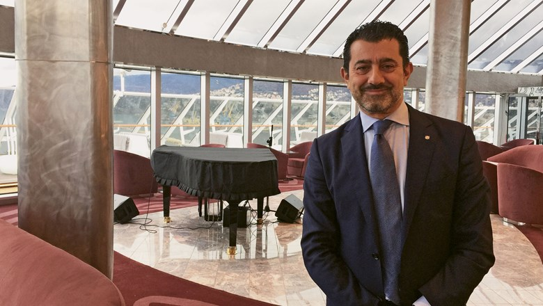 MSC Cruises CEO Gianni Onorato on the new MSC Seaside.