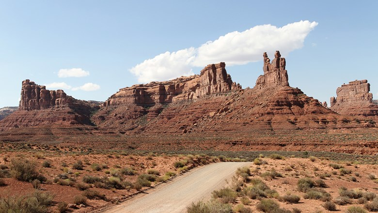 Valley of the Gods, part of Utah's Bears Ears National Monument.