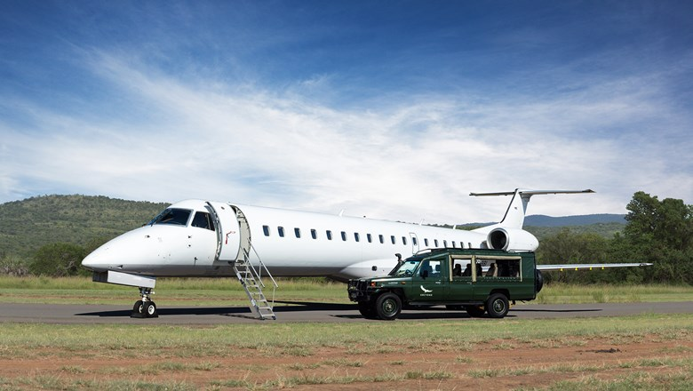 AndBeyond Private Jet Journeys feature flights on Bombardier Challenger 350 private jets.