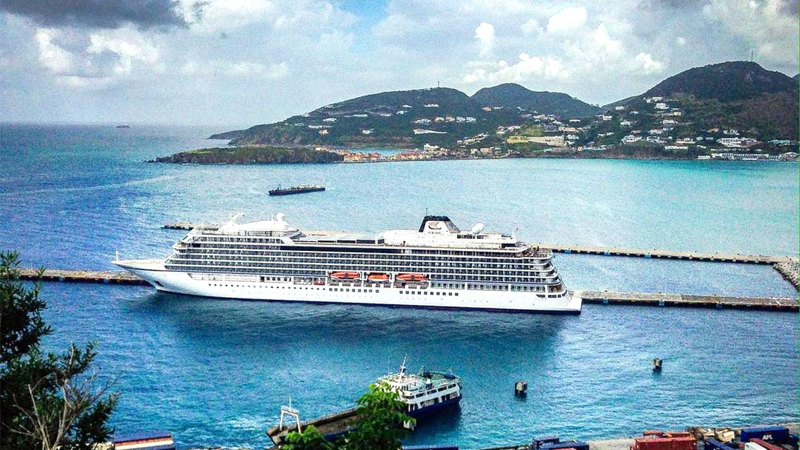 St Maarten Welcomes First Cruise Ship Since Hurricane Irma - Cruise ships out of houston texas