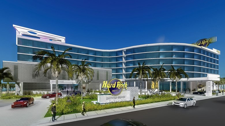 Rendering Of The Hard Rock Hotel Daytona Beach Opening In Early 2018