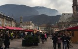 The Christmas Market in the South Tyrolian capital of Bolzano is a place to eat, drink and shop during the holiday season.