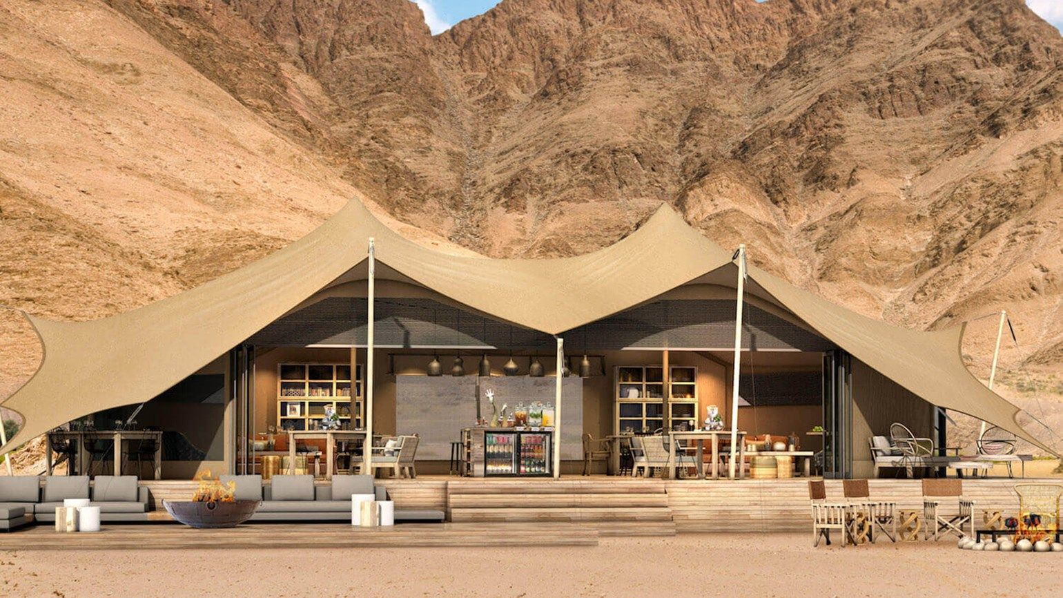 New lodge to open in Namibia's remote Kaokoland