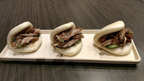 Roasted Duck Bao at Lucky Dragon's Bao Now.