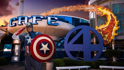 Marvel Character Dinner being served at Universal Orlando