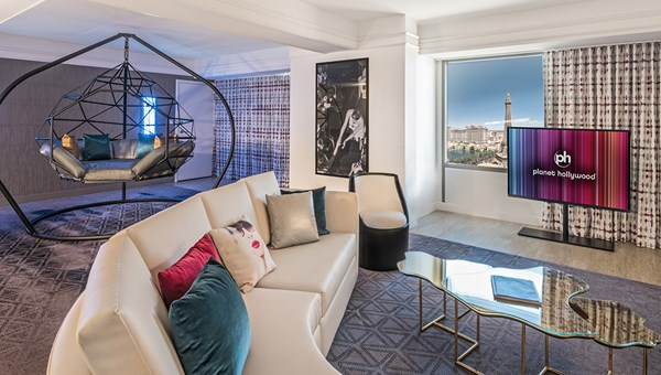 An Ultra Boulevard Suite at Planet Hollywood.
