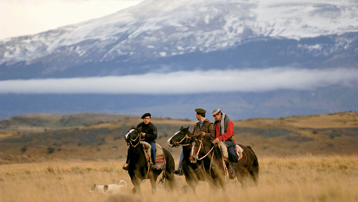 Sheep farms, where gauchos live an age-old way of life, are still big business in Southern Patagonia.