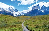 Some of South America's best hiking can be found in Chile's Torres del Paine, the country's largest and most visited national park.