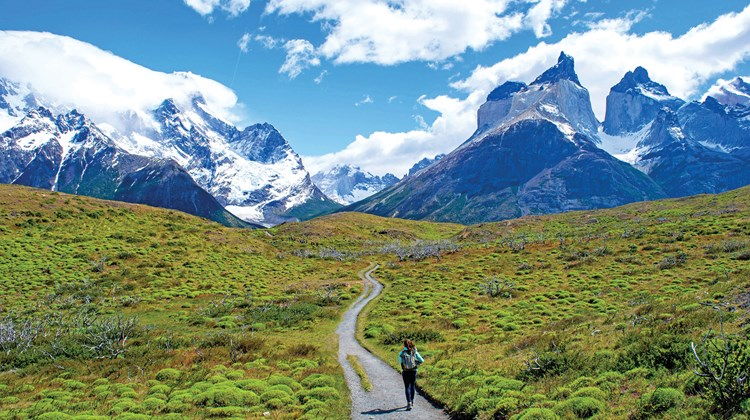 Some of South America's best hiking can be found in Chile's Torres del Paine, the country's largest and most visited national park.<br /><br /><strong>Photo Credit: EcoCamp Patagonia</strong>