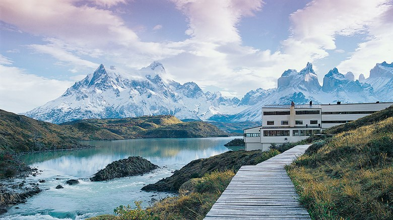 One of three Explora lodges operating in Chile, the Explora Patagonia offers a lakeside location and unbeatable views within the Torres del Paine National Park.
