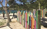 Royal Caribbean turned storm debris into art as part of its restoration of Magens Bay in St. Thomas.