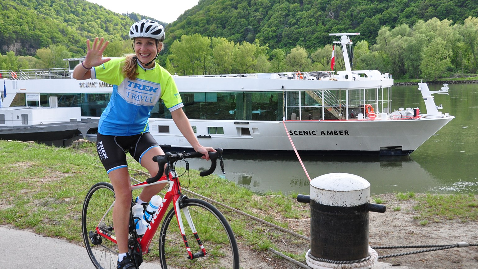 Scenic renews partnership with cycling company Trek Travel