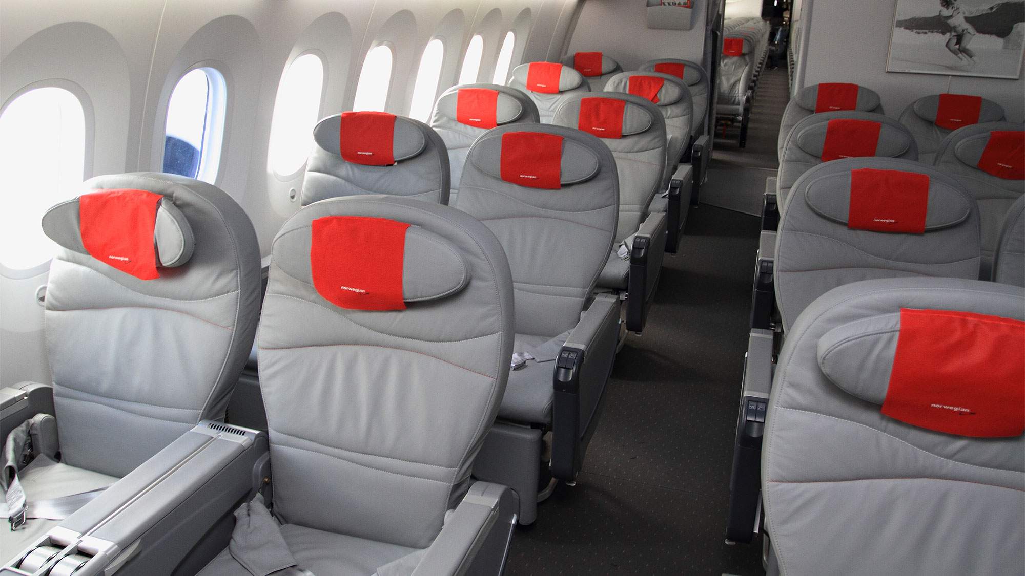 Attractive Norwegian Airu0027s Premium Cabin On Its Current Dreamliner Aircraft.