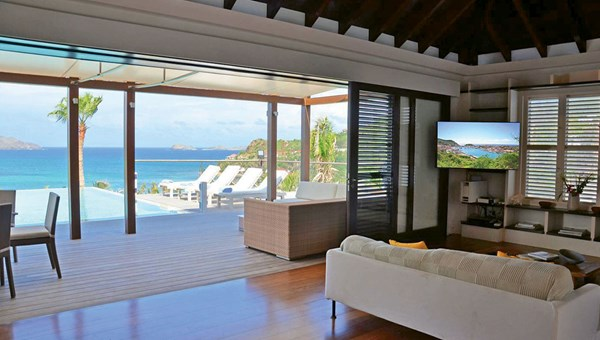 St. Barth Properties' Villa Nikki is open.
