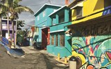 San Juan's La Perla neighborhood, the setting of the hugely popular music video for ''Despacito,'' remains as colorful and vibrant as ever.